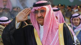 Prince Mohammed bin Nayef (file photo)