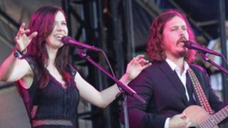 Joy Williams and John Paul White of The Civil Wars