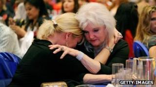 Romney supporters in Las Vegas