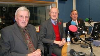 Bill Longmore, Adrian Blackshaw and Simon Murphy