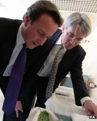 David Cameron and Andrew Mitchell visiting Rwanda in 2007