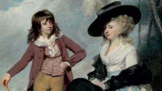 Maria & Robert Gideon by Sir Joshua Reynolds