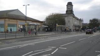 Gorsaf reilffordd Aberystwyth