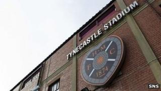 Hearts' Tynecastle Stadium