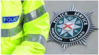 PSNi officer and crest