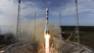 ESA rocket launch