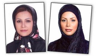 Neda Soltani and Neda Agha-Soltan (AP)