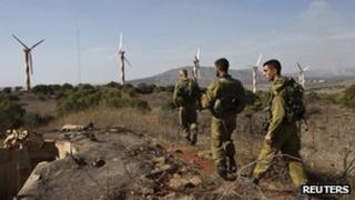 . Three Syrian tanks entered the demilitarised zone in the Golan Heights between Israel and Syria on Saturday, an Israeli military