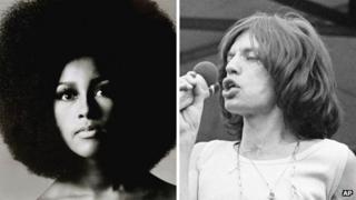 Marsha Hunt and Mick Jagger