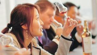 Whisky tasting event