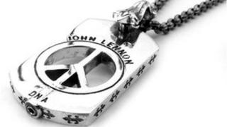 John Lennon DNA necklace