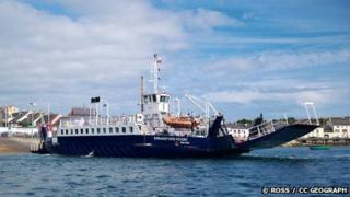 The Strangford Ferry