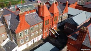 Victoria Road Prison by Peter Killy (Manxscenes.com)