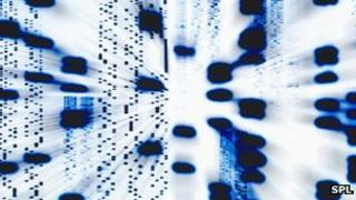 DNA sequence data