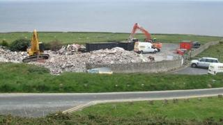 Sea Lawns hotel being knocked down