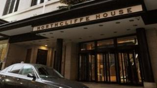 DMGT head office, Northcliffe House, in West Kensington, London
