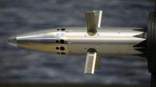 Missile warhead