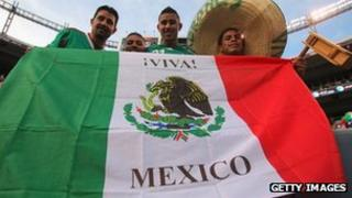 Mexico sports fans (file image)