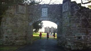 Scone arch rebuilt