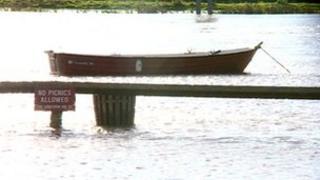 Flooding in Gunthorpe