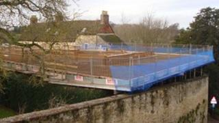 Soldiers of Oxfordshire Museum construction