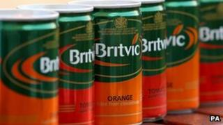 Britvic cans