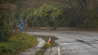 A39 in Cornwall