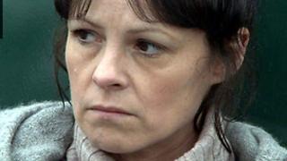 Catrin Powell as Cadno in Pobol y Cwm