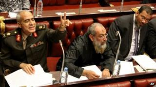 Members of Egypt's constituent assembly (29 November 2012)