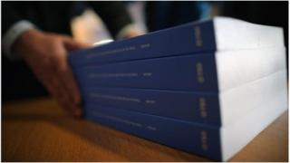 Copies of the Leveson report