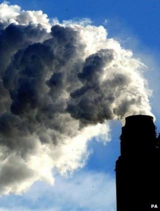 Power station chimney (Image: PA)