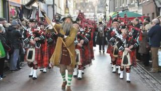 Dickens celebrations in Rochester