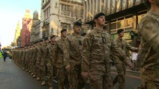 1st Royal Tank Regiment (1RTR) in Liverpool