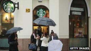 Branch of Starbucks