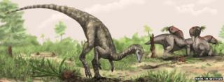Artist's conception of Nyasasaurus parringtoni