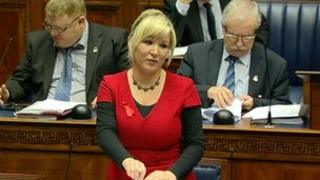 Minister Michelle O'Neill