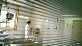 Nurse at work
