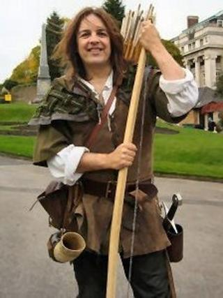 Tim Pollard at Nottingham Castle
