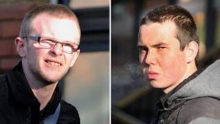 Liam Hughes (left) and Jason parker