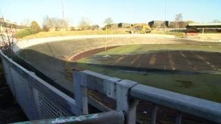 The velodrome in 2008