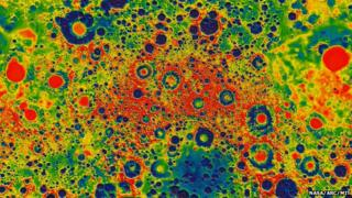 Grail's view of the Moon's gravity field