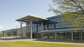 The Pyramids Business Park, in Bathgate