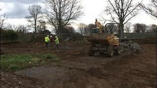 Guernsey skate park build begins