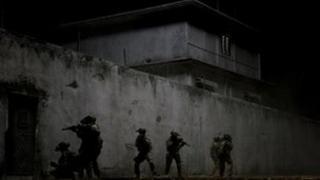 Scene from Zero Dark Thirty