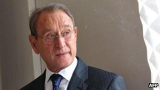 Paris Mayor Bernard Delanoe, file pic