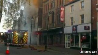 Fire in Nuneaton (Ahmed Ali)