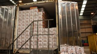 Garlic impounded by HMRC
