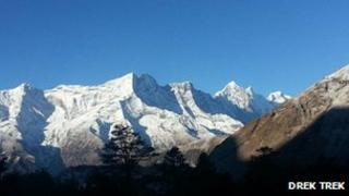 Mount Everest attracts thousands of walkers each year