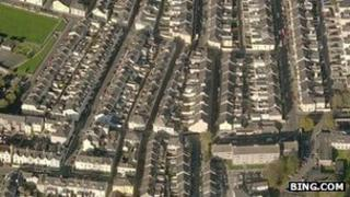 Aerial view of Plymouth