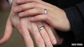 men's hands